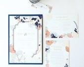 Printable Wedding Invitation - DIY - Netherfield