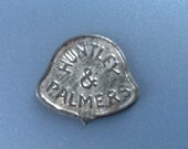 Rare Huntley & Palmers Tin Biscuit Marker