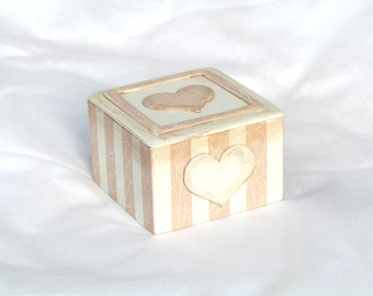 Jewelry Box Keepsake Box Decorative Box Heart Box Trinket box Memory box Gift for Girls Birthday Gift