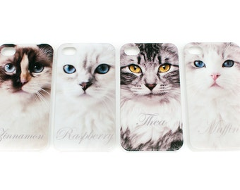 Ragdoll cat mobile case for iPhone 4/4s *THEA*