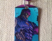 Sentinel Marvel X-Men Upcycled Comic Book Dog Tag, includes necklace