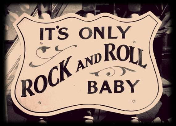 Items similar to BABY ONESIE It s ly Rock and Roll Baby