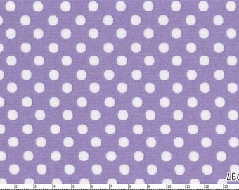 Lilac Medium  Polka Dots from Color Basics by Lecien