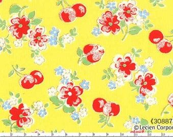 Floral Cherries Color 50 from the Old New 30's Collection by Lecien