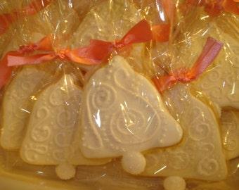 Bridal Shower, Wedding Bell Decorated Sugar Cookies - 1 Dozen
