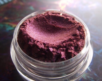 Fallen - Mauve Red Duochrome Shimmer Pink Green Color Shift Eyeshadow