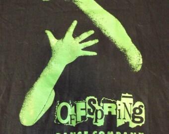 VINTAGE Offspring Dance Company Black LARGE T Shirt