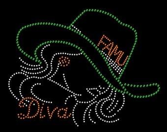 FAMU Diva Rhinestone Transfer