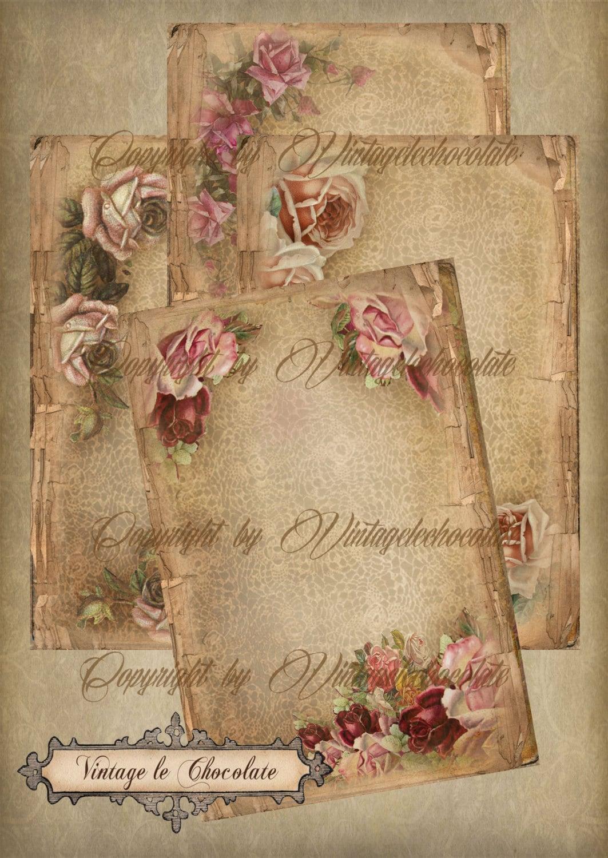 Scrapbook Paper Vintage
