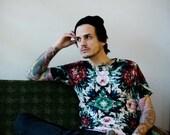 Flower, Caleidoscope, Shirt, T-Shirt, All Over Print Streetwear Unisex