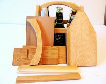 DIY Wood 6 Pack Bottle Carrier kit