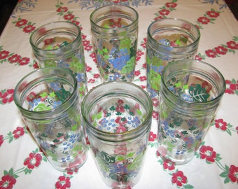 Anchor Hocking Jelly/Drinking Glasses, Set of 6