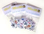 Scribbleformers Sticker Pack- 12 pcs, Series One