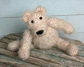 Amigurumi crochet teddy bear Teddies Bears Teddybears Moveable limbs Stuffed animal Handmade Softies Plushies Gifts Collectables