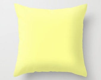 Light yellow pillows Etsy