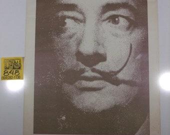 1990's Salvador Dali Poster