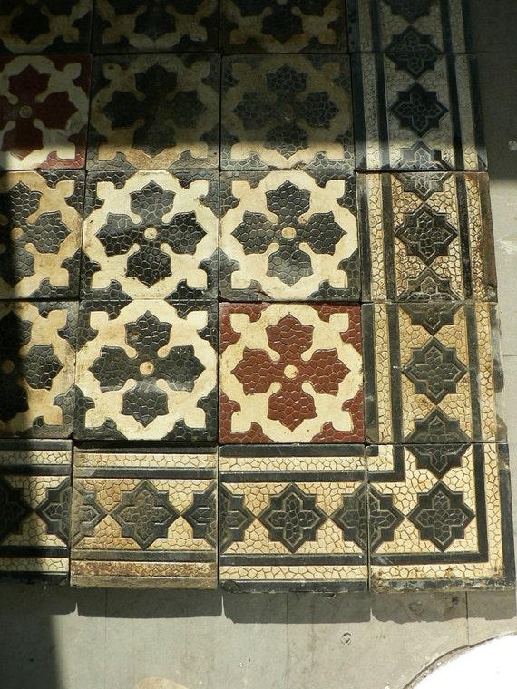 reserviert antike zementfliesen von edewerke. Black Bedroom Furniture Sets. Home Design Ideas