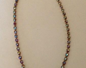 1940's Vintage A/B Rhinestone Necklace