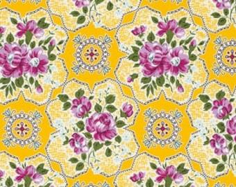 SALE Circa Austin - Jennifer Paganelli - Free Spirit Fabrics - Yellow - Half Yard