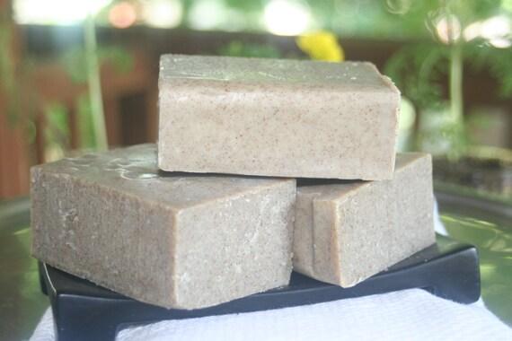 Citrus Kelp Castile soap with Organic oils Large 5.3 oz bar essential oils
