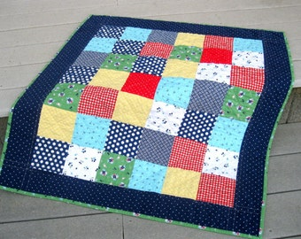 Patchwork Baby - Picnic Baby Quilt