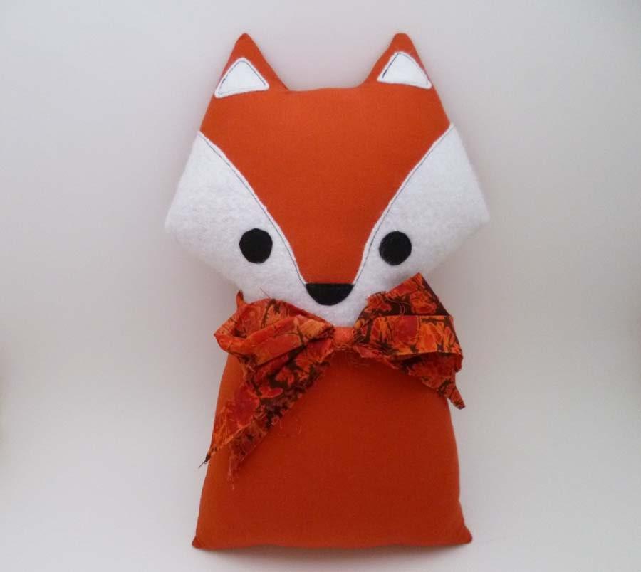 Fox Pillow Stuffed Animal Fox Plush Doll Soft Toy Fox Doll