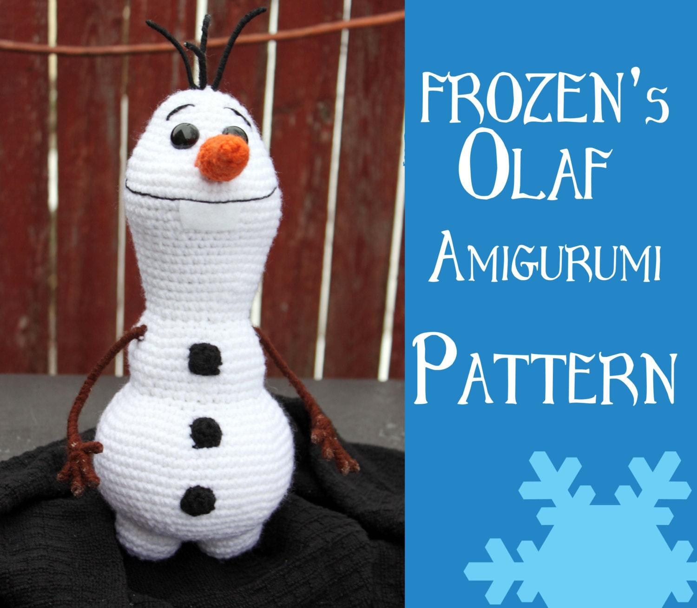Crochet Pattern: Olaf from Disneys Frozen by MilesofCrochet