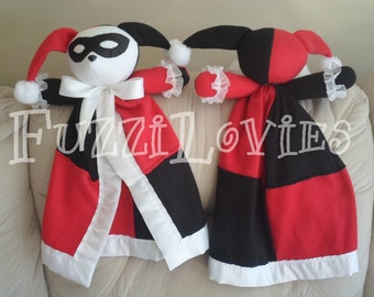 Harley Quinn Batman Lovey for Children Made to Order