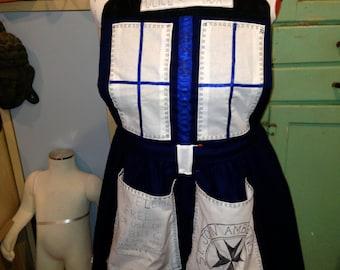 Dr Who TARDIS apron