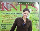 Interweave Knits Fall 2008 Magazine Free Shipping