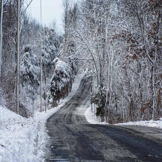 INSTANT DOWNLOAD Snow Winter Wonderland1 16x20