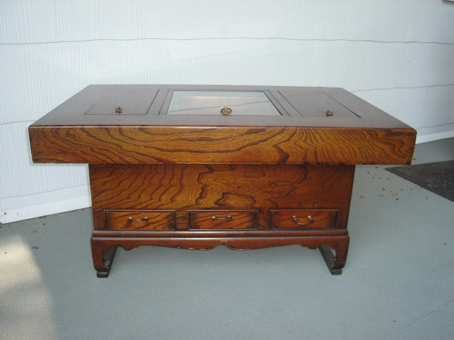 Rare Find Japanese Hibachi Coffee Table Korean Style By Modernenow