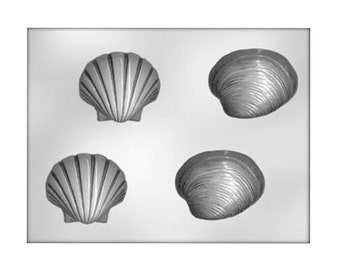 Sea Shell Chocolate Mold - Candy Mold - Candy Making - Party Supplies