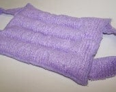 1 LAVENDER Aromatherapy FLAX PACK Purple  Hot Pack Cold Pack With Handles Violet Lavender
