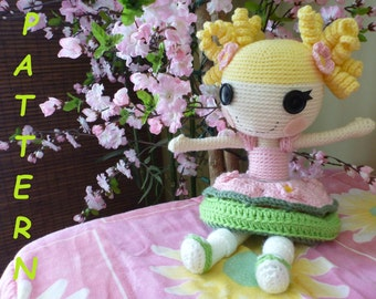 Blossom Flowerpot  type doll PATTERN
