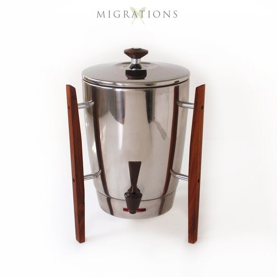 Mid-Century Modern Regal Coffee Maker 30-Cup by Migrations on Etsy