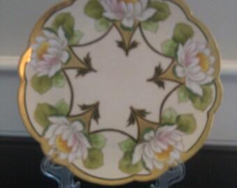 Stunning Vienna Austria Handpainted Plate