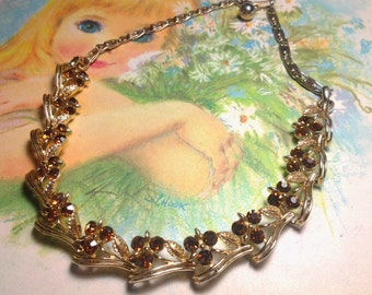 vintage costume jewelry necklace choker