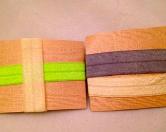 Set of 4 Elastic Hair Ties