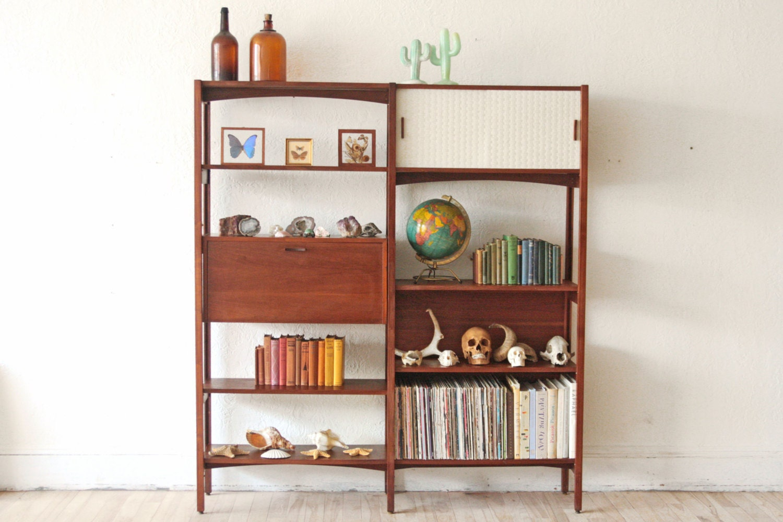 Mid century modern wall unit bookshelf - Modern bookshelf wall unit ...