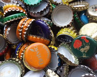 Selection of bottle caps