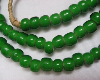 Strand of Whitehearts from the African Trade, Whiteheart Beads