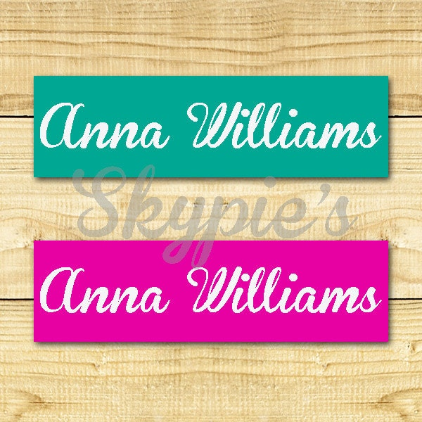 80 custom iron on clothing labels personalized iron on