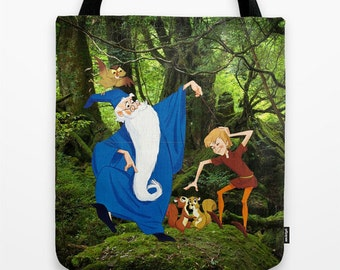 The Sword in the Stone Tote Bag Disney