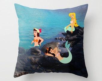 Disney's Peter Pan Mermaids Pillow with Insert