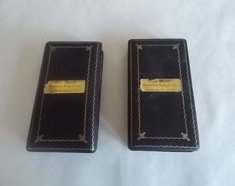 Vintage Hardshell Jewelry Cases /Lot