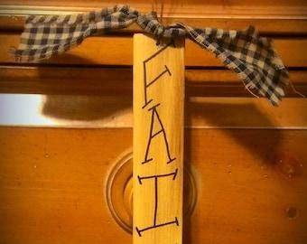 Faith Sign. Spiritual words. Primitive.