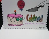 Another cake dies... Birthday Card