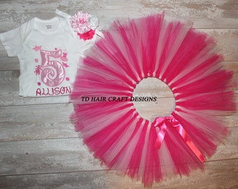 Balerina birthday tutu set