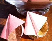 Fortune Cookie wedding favors -Pink and Gold